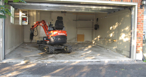 Garage Floor Removal And Replacement Services In Ottawa